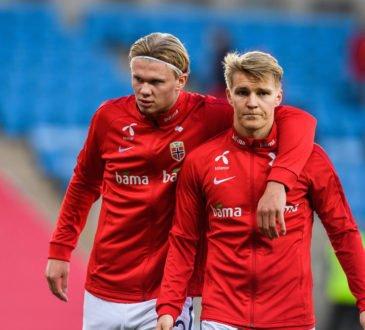 Erling Haaland und Martin Ödegaard